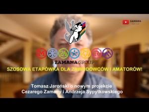 T. Jaroński rozmawia z A. Sypytkowskim i C. Zamaną