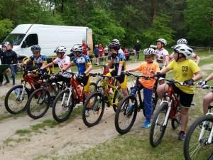 Wyścig szkółek kolarskich w Piekoszowie 04.06.2017
