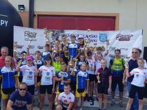 Wyścig szkółek kolarskich Doliną Opatówki 16.06.2018