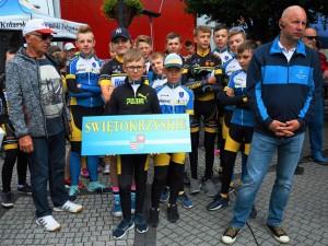 Mistrzostwa Polski Szkółek Kolarskich w kolarstwie szosowym Raszków 2018