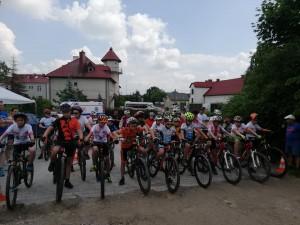 Wyścig Szkółek Kolarskich w Piekoszowie 08.06.2019